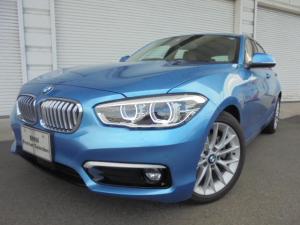 BMW 1シリーズ 118d ファッショニスタUPグレードオイスター革認定中古車