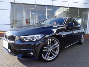 BMW 4シリーズ 420iグランクーペ Mスポーツ コーラルレッドレザー 19AW 弊社デモカー 認定中古車
