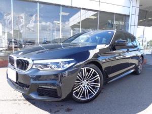BMW 5シリーズ 530iツーリングMスポーツ19AW黒革デモカー認定中古車