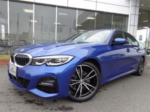 BMW 3シリーズ 320i Mスポーツ19AWデビューP黒革デモカー認定中古車