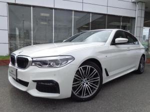 BMW 5シリーズ 523i Mスポーツ19AWウッドPデモカー認定中古車