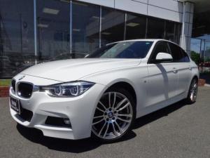 BMW 3シリーズ 318i Mスポーツ19AWウッドP禁煙1オナ認定中古車