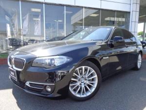 BMW 5シリーズ 523d ラグジュアリー黒革ACC禁煙1オナ認定中古車