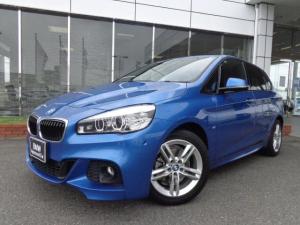 BMW 2シリーズ 218dアクティブツアラー Mスポーツ コンフォートPサポ社外DTVドラレコ禁煙認定中古車