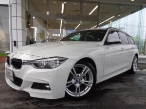 BMW 3シリーズ 318iツーリングMスポーツ18AW黒革社外DTV認定中古車