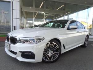 BMW 5シリーズ 540i xドライブMスポーツ19AW黒革デモカー認定中古車