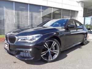 BMW 7シリーズ 740d xドライブMスポーツ20AW黒革デモカー認定中古車