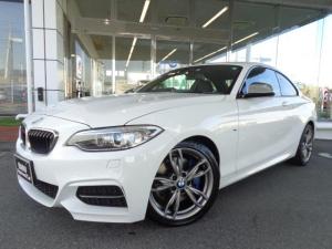 BMW 2シリーズ M235iクーペ18AW社外DTV衝突軽減1オナ禁煙認定車