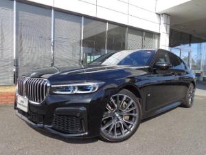 BMW 7シリーズ 745e Mスポーツ後期20AWモカ革SRデモカー認定中古車