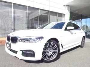 BMW 5シリーズ 530e MスポーツコンフォートP黒革禁煙1オナ認定中古車