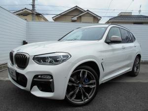 BMW X3 M40d黒革21AWセレクトPパノラマ禁煙1オナ認定車