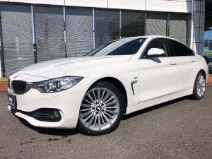 BMW 4シリーズ 420iグランクーペ 黒革18AWウッドACC禁煙Luxury認定中古車