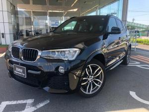 BMW X3 xDrive 20d Mスポーツ モカレザー シートヒーター ガラスSR 19AW 禁煙 ワンオナ