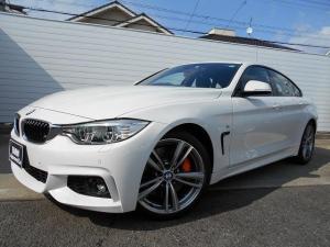 BMW 4シリーズ 428iグランクーペ Mスポーツ 黒革 シートシーター 19AW ヘッドアップディスプレイ LEDヘッドライト Mブレーキ