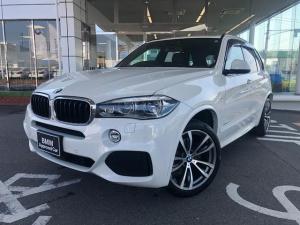 BMW X5 xDrive 35i Mスポーツ 三列シート7人乗り LEDヘッド ウッドP 社外地デジ 20AW