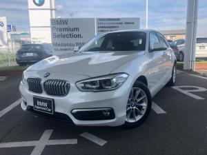 BMW 1シリーズ 118i スタイル LEDヘッドライト コンフォートパッケージ アドバンスドパーキングサポートパッケージ 17AW 禁煙 ワンオナ