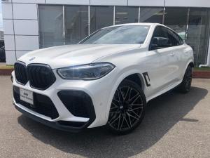 BMW X6 M コンペティション コンフォートプラス カーボンパネル レーザーLED リヤエンターテイメント 22AW 禁煙 ワンオナ