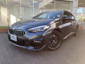 BMW 2シリーズ 218iグランクーペ Mスポーツ LEDヘッドライト コンフォートアクセス Mブレーキ Mリヤスポイラー ナビパッケージ バックカメラ 18AW 禁煙 デモカー