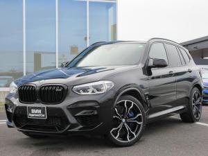 BMW X3 M コンペティション ブラックメリノレザー21AW 認定中古車