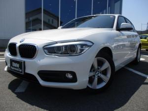 BMW 1シリーズ 118i スポーツ パーキングサポートPKG認定中古車