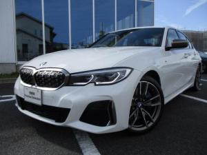 BMW 3シリーズ M340i xDrive 全方位カメラ ブラックレザーシート ブルーステッチ 19AW 認定中古車