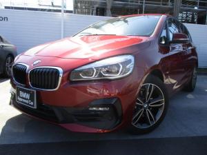 BMW 2シリーズ 218iアクティブツアラー Sport パーキングサポート コンフォートパッケージ 認定中古車