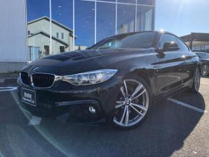 BMW 4シリーズ 435iクーペ Mスポーツ 衝突軽減ブレーキ 19AW ブラックレザーシート 1オーナー 認定中古車