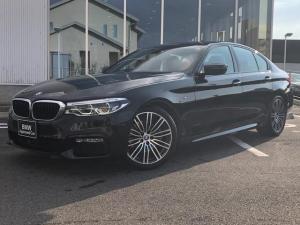 BMW 5シリーズ 523i Mスポーツ イノベーションPKG ハイラインブラックレザーシート 19AW 弊社1オーナー 認定中古車