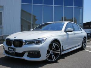 BMW 7シリーズ 740eアイパフォーマンス Mスポーツ LEDヘッドライト ブラックレザーシート SR 20AW 弊社1オーナー 認定中古車