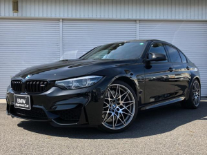 BMW M3 M3セダン コンペティション サキールオレンジレザー アクティブMサスペンション 20インチAW 弊社1オーナー 認定中古車