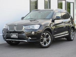 BMW X3 xDrive 20d Xライン ブラックレザーシート ウッドパネル 衝突軽減ブレーキ 18AW 認定中古車