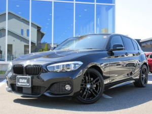 BMW 1シリーズ 118i Mスポーツ エディションシャドー ブラックレザーシート 18AW ACC ブラックキドニーグリル 電動シート ワンオーナー