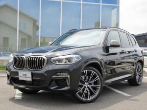 BMW X3 M40i ガラスサンルーフ オプション21AW 黒レザーシート ハーマンカードンHiFi 地デジ ACC LED Mブレーキ ワンオーナー