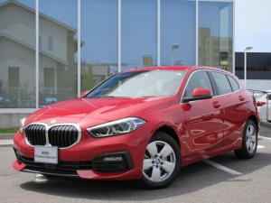 BMW 1シリーズ 118d プレイ エディションジョイ+ LEDヘッド 16AW ACC アンビエントライト コンフォートアクセス PDC 禁煙 デモカー
