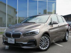 BMW 2シリーズ 225xeアイパフォーマンスAツアラーラグジュアリー ブラックレザーシート LEDヘッド 17AW ACC ヘッドアップディスプレイ 電動リアゲート 禁煙 デモカー