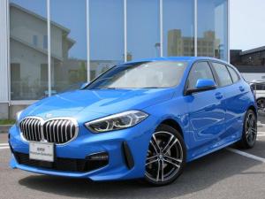 BMW 1シリーズ 118i Mスポーツ LEDヘッドライト ACC 18AW アンビエントL コンフォートアクセス 電動リアゲート 禁煙 デモカー