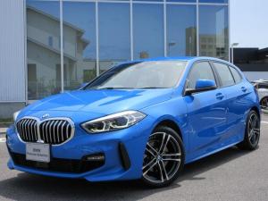 BMW 1シリーズ 118i Mスポーツ LEDヘッドライト ACC 18AW コンフォートアクセス Bカメラ アンビエントライト 禁煙 デモカー