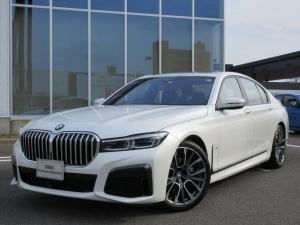 BMW 7シリーズ 740i Mスポーツ レーザーH 黒革 20AW サンルーフ ハーマンカードン ヘッドアップD 地デジ ACC 禁煙 弊社ワンオーナー