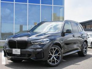 BMW X5 xDrive 35d Mスポーツ LED 21AW 茶レザー ソフロクローズドア クラフテッドGFFウッドP Bグリル ヘッドアップD 禁煙 弊社ワンオーナー