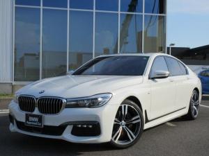BMW 7シリーズ 740i Mスポーツ LED 20AW サンルーフ 黒レザーシート ヘッドアップD ハーマンカードン 前後ドラレコ 禁煙 弊社ワンオーナー