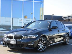 BMW 3シリーズ 320i Mスポーツ LED 18AW ACC 黒レザーシート ヘッドアップディスプレイ ウッドパネル 前後ドライブレコーダー 禁煙 弊社ワンオーナー