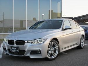 BMW 3シリーズ 320d Mスポーツ 後期型 LED 18AW ACC パドルシフト コンフォートアクセス ドライブレコーダー ウィンドウフィルム 禁煙 弊社ワンオーナー