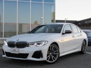 BMW 3シリーズ M340i xDrive レーザーヘッドライト 19AW ACC コニャックレザーシート ハーマンカードン ヘッドアップディスプレイ 禁煙 認定中古車