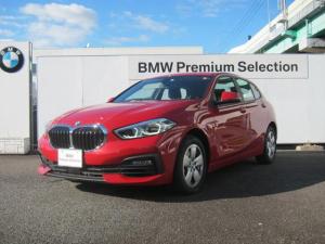 BMW 1シリーズ 118i スタンダード 認定中古車 メルボルンレッド インテリジェントセーフティ 携帯ワイヤレスチャージ