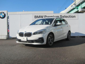 BMW 2シリーズ 218dアクティブツアラー スポーツ 認定中古車 アクティブクルーズコントロール ヘッドアップディスプレイ装備車 インテリジェントセーフティ バックカメラ
