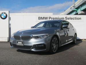 BMW 5シリーズ 523d Mスポーツ ハイラインパッケージ インテリジェントセーフティ アクティブクルーズコントロール LEDヘッドライト 白革シート ウッドトリム