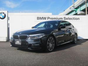 BMW 5シリーズ 523d Mスポーツ 認定中古車 純正19インチアロイホイール デビューパッケージ ソフトクローズドア ウッドトリム ブラックレザーシート