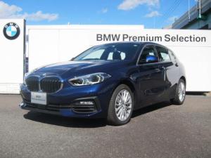 BMW 1シリーズ 118i プレイ 純正ナビ ワイヤレス充電 運転席電動シート 電動テールゲート ACC(アクティブクルーズコントロール) バックカメラ ETC