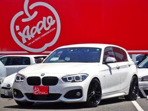 BMW 1シリーズ 118d Mスポーツ エディションシャドー ベージュレザー/ブラックキドニーグリル/アイバッハローダウンスプリング純正有り/コンフォートアクセス/純正ナビ/バックモニター/シートヒーター/LEDヘッドライト/ドアミラーカバー&ブルーレンズ/禁煙