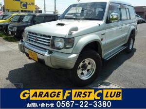 三菱 パジェロ ワイド スーパーエクシード4WD レザーシート サンルーフ